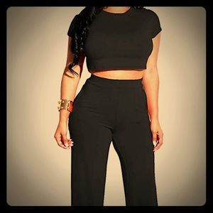 Two piece crop top